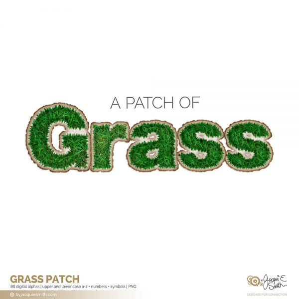 Grass Patch alpha at byjacquiesmith.com