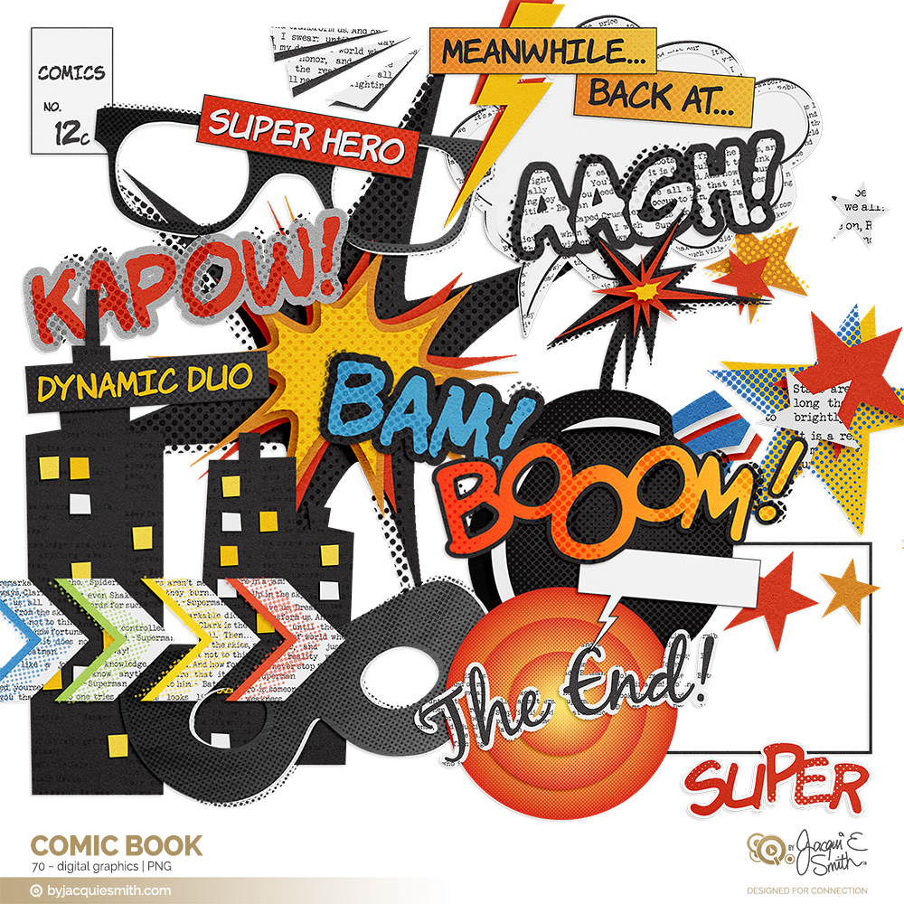 Comic Book graphics at www.byjacquiesmith.com