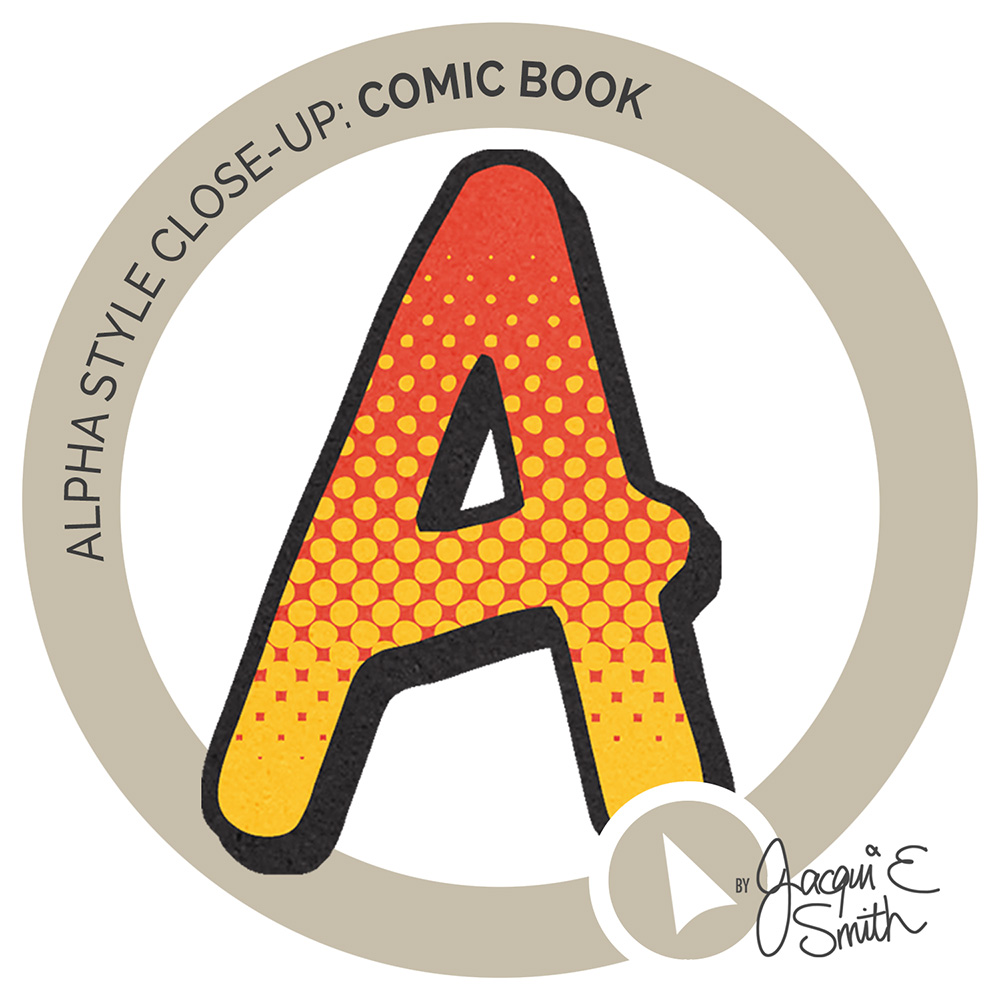 Comic Book alpha inset by Jacqui E Smith