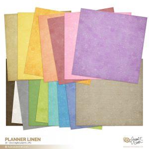 Planner Linen digital paper at www.byjacquiesmith.com