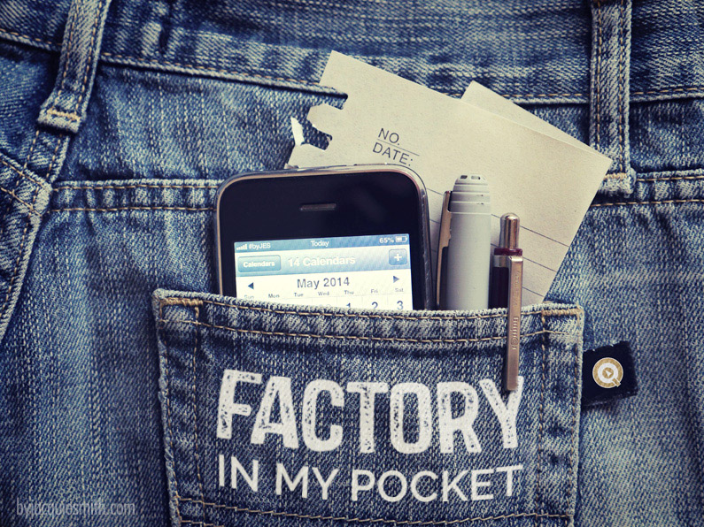 Factory in my Pocket by Jacqui E Smith