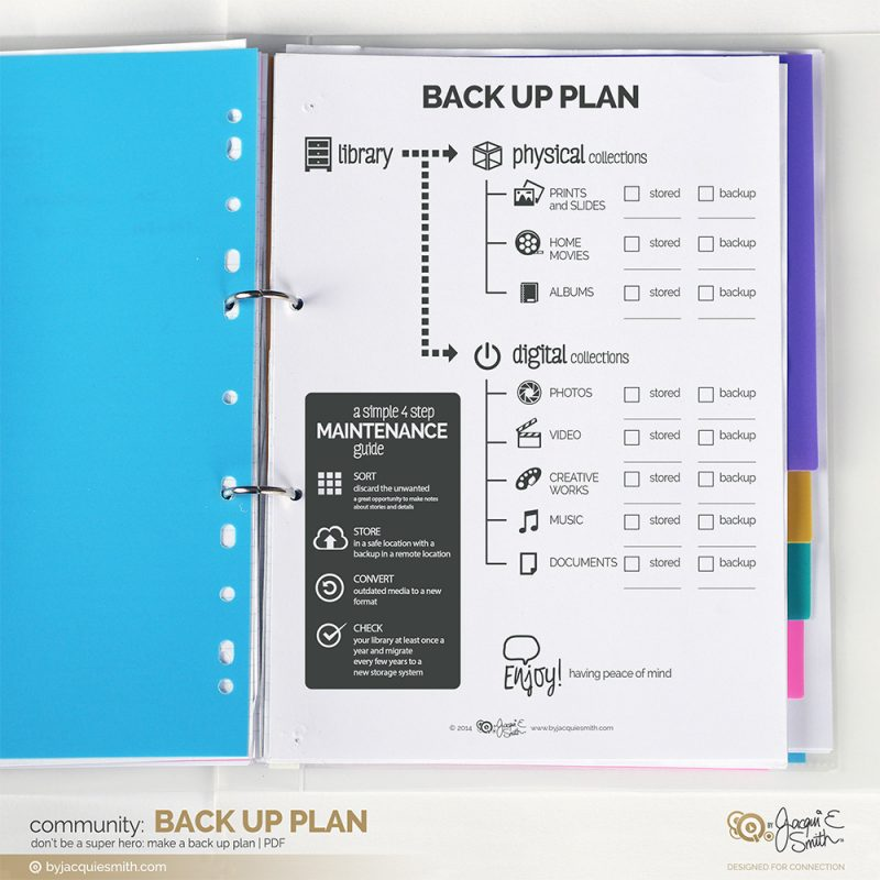 Back Up Plan at www.byjacquiesmith.com