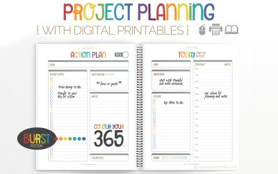 Project Planning with Digital Printables