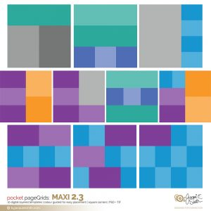 pageGrids Maxi 2.3 digital templates at www.byjacquiesmith.com
