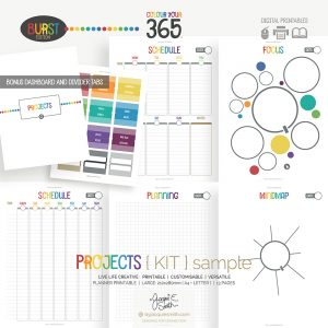 Burst Projects Colour Your 365 Planner at www.byjacquiesmith.com
