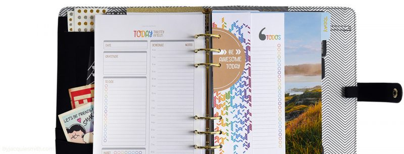 Colour Your 365 Planner in Kikki K planner binder at www.byjacquiesmith.com