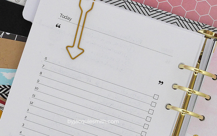 4 Secrets for Planner Success at www.byjacquiesmith.com