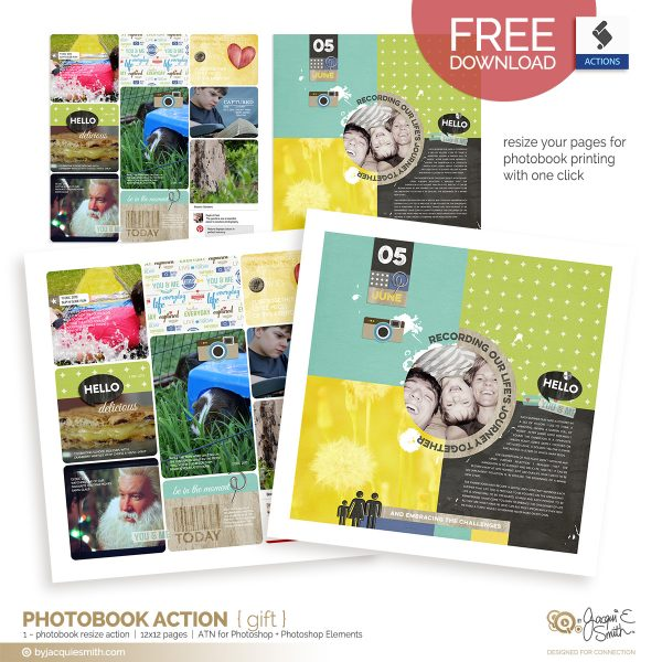 FREE phonebook page resize action for photoshop and photoshop elements at byjacquiesmith.com