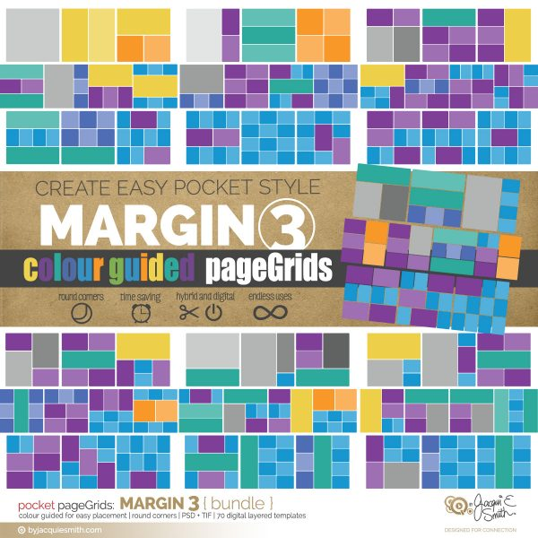 pageGrids Margin 3 digital pocket templates at byjacquiesmith.com