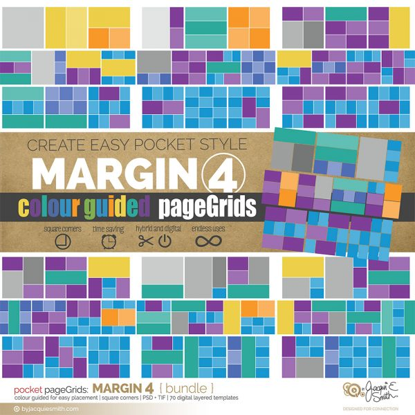 pageGrids Margin 4 digital pocket templates at byjacquiesmith.com