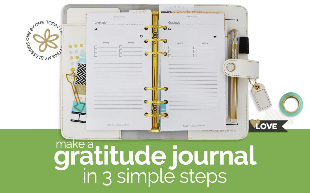How to Make Your Own Gratitude Journal