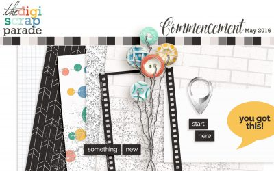 Digi Scrap Parade : Commencement