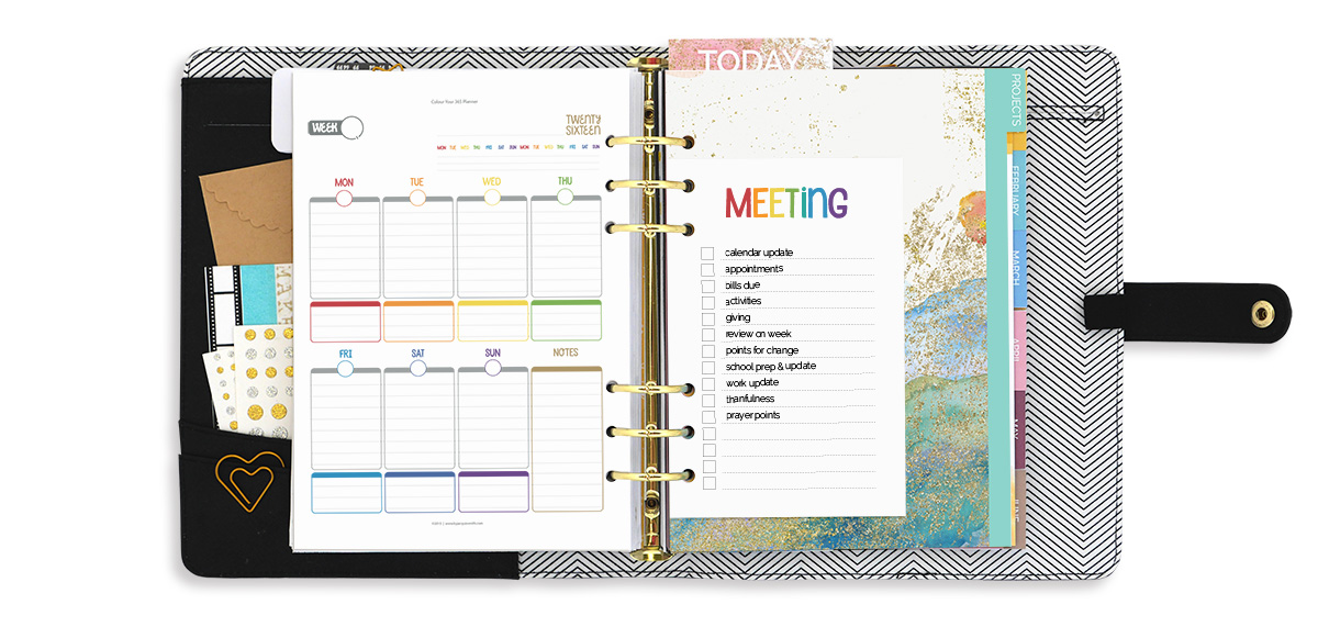 Family Meeting : going from good to great with free planner printables at byjacquiesmith.com