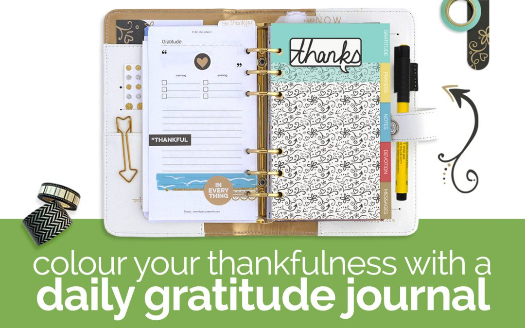 Colour Your Daily Gratitude Journal
