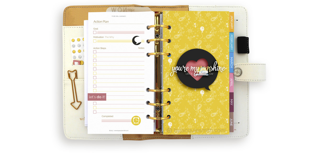 The Beginners Guide to Planner Binders and Refill Sizes at byjacquiesmith.com