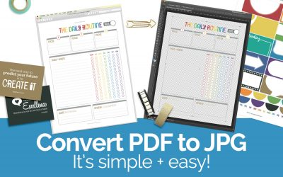 Learn how to convert PDF to JPG … it's simple + easy!
