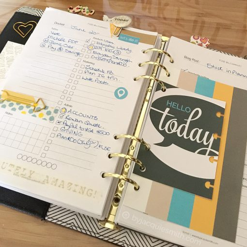 FUSE:life Docket page - purposeful planner for creative s at byjacquiesmith.com