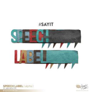 Speech Label digital alpha at byjacquiesmith.com