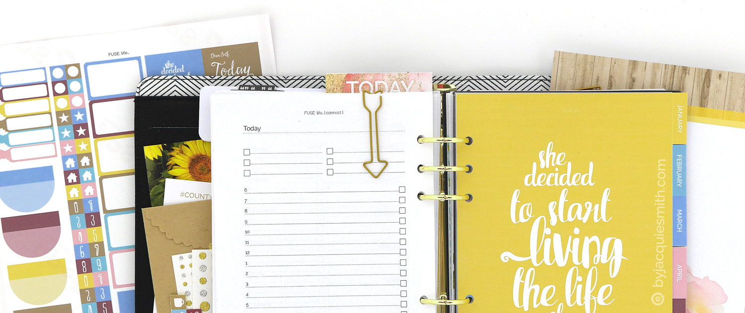 Finding Peace in Plannerland at byjacquiesmith.com