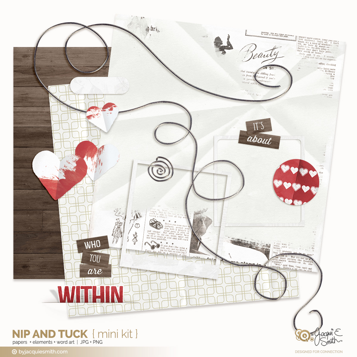 Nip and Tuck digital mini kit at byjacquiesmith.com