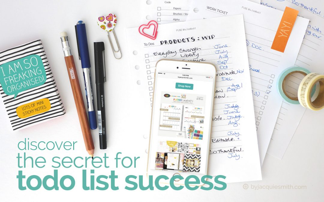 Discover The Secret for Todo List Success