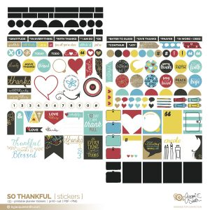 So Thankful printable stickers at byjacquiesmith.com