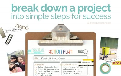 Get Things Done: Break down a Project into simple steps for success