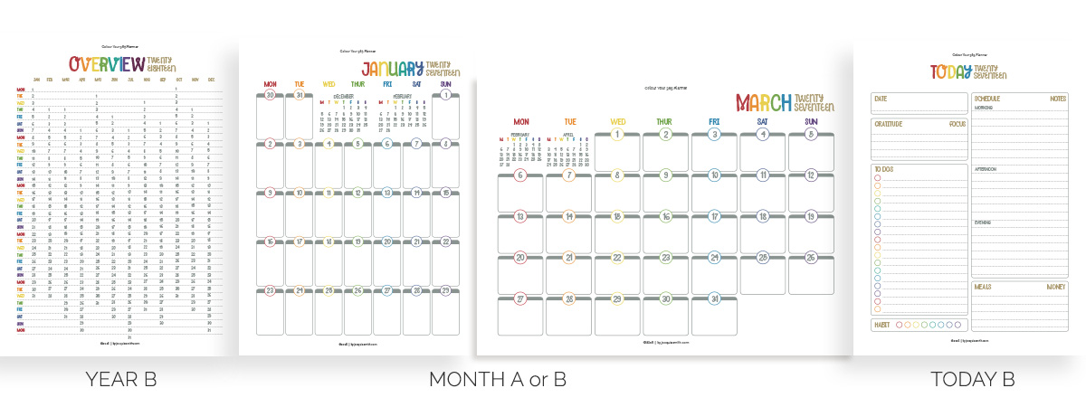 Create Your Perfect Planner at byjacquiesmith.com > Try a free sample today!