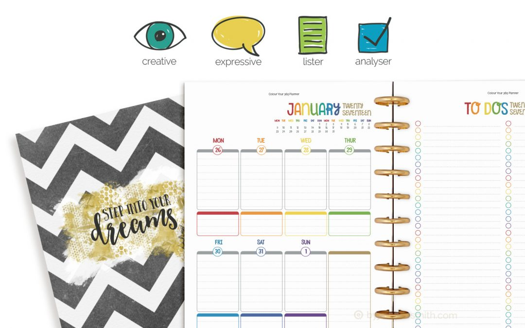 Create Your Perfect Planner with your unique plan+do™ recipe