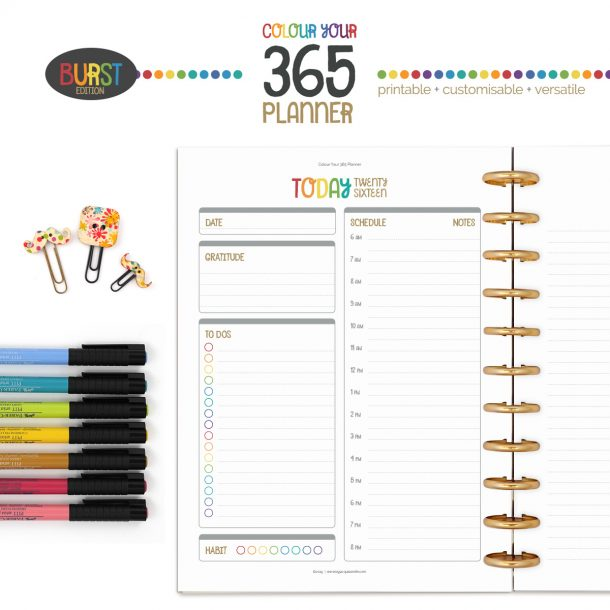 Create A Planner Unique to You at byjacquiesmith.com > Try a free sample today!