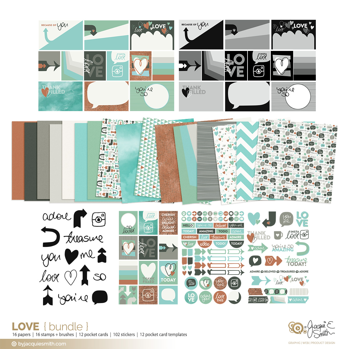 Love digi craft products - bundled for great value at byjacquiesmith.com