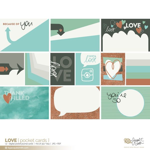 Love digital pocket cards at byjacquiesmith.com