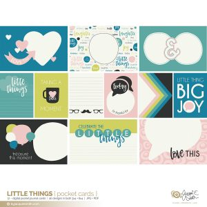Little Things digital pocket cards at byjacquiesmith.com
