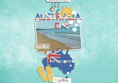 Australia Day digital design