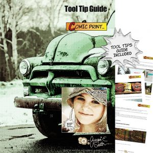 Comic Print Tool Tips Guide by Jacqui E Smith