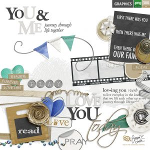 You and Me graphics by Jacqui E Smith