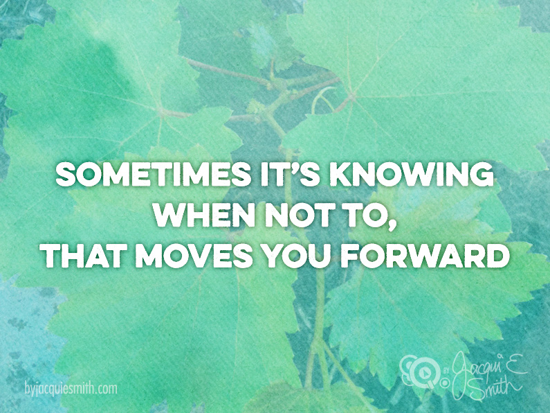 Is This One Thing Your Key to Moving Forward?